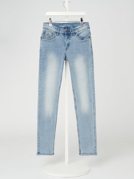 Garcia Regular Fit Jeans mit Stretch-Anteil Modell 'Lazlo' Blau - 1