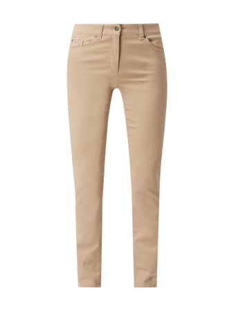 Gerry Weber Edition Hose mit Stretch-Anteil Beige - 1