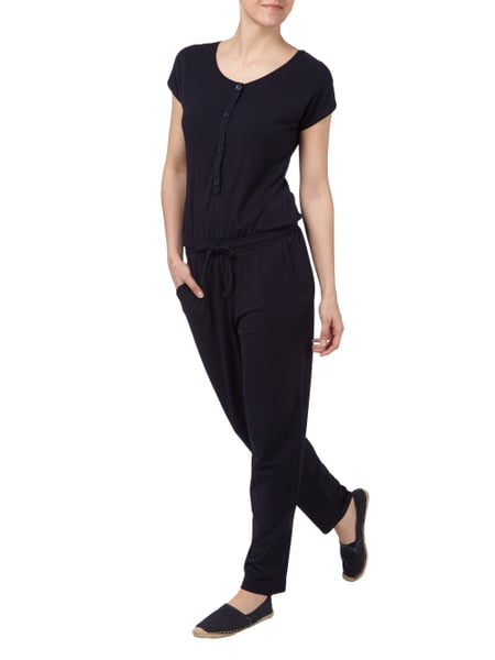 Jumpsuit mit Volants Blau Damen Gerry Weber