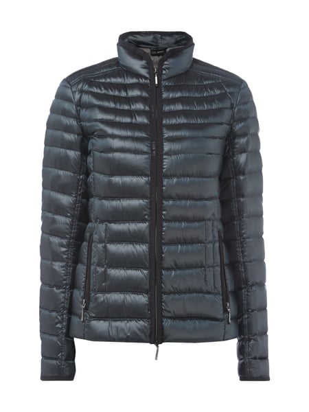 new style a0529 1adeb GIL-BRET Light-Daunen Steppjacke mit Stehkragen in Grau ...