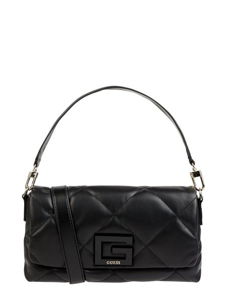 Guess Clutch in Leder-Optik Schwarz - 1