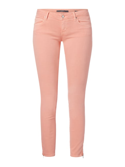 Coloured Skinny Fit Jeans mit Push Up-Effekt Rosé - 1