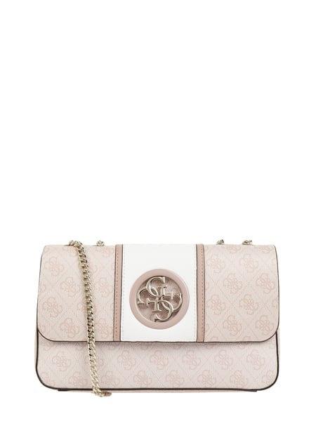 Guess Crossbody Bag in Leder-Optik Rosa - 1
