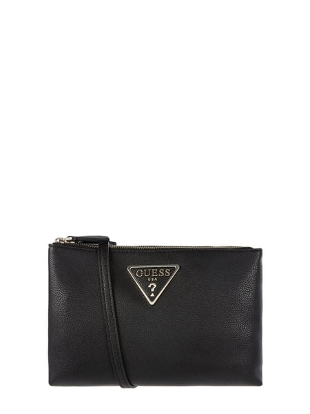 Guess Crossbody Bag in Leder-Optik Schwarz - 1