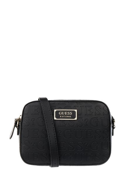 Guess Crossbody Bag mit Logo-Muster Schwarz - 1