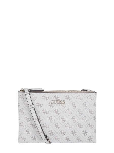Guess Crossbody Bag mit Logo-Muster Weiß - 1