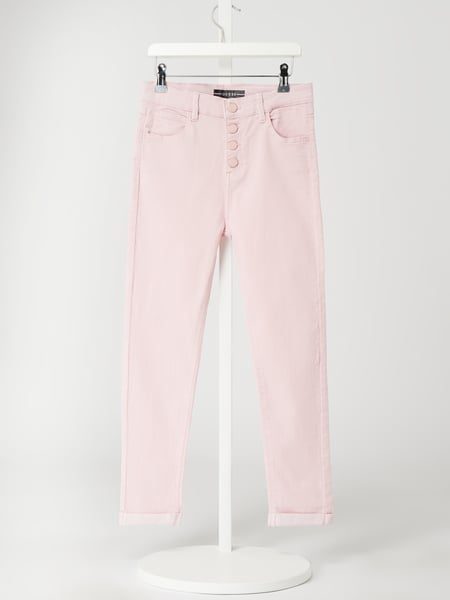 Guess Jeans in schmaler Passform mit Stretch-Anteil Rosa - 1