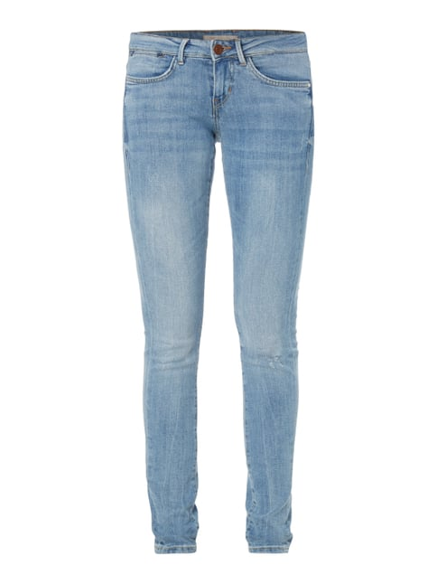 Jeggings im Used Look Blau / Türkis - 1