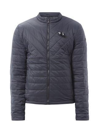 Light-Steppjacke mit Ohrhörern Rot - 1
