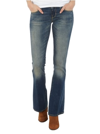 Guess Mini Flared Cut Jeans im Used Look Jeans - 1