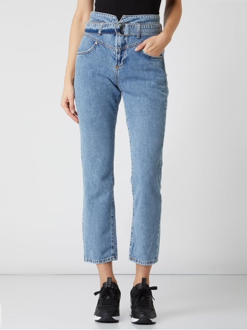 The It Girl High Mom Fit Jeans mit Stretch Anteil