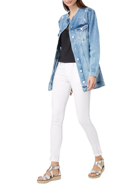 Guess NEW BOYFRIEND JACKET - Boyfriend Fit Jeansjacke im Destroyed Look in  Blau   Türkis - d5c1f7dee9