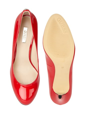 Guess Pumps in Lack-Optik Rot - 1