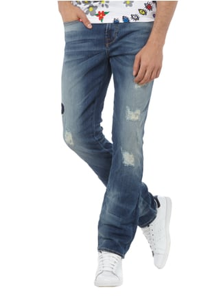 Guess Skinny Fit 5-Pocket-Jeans im Destroyed Look Jeans - 1