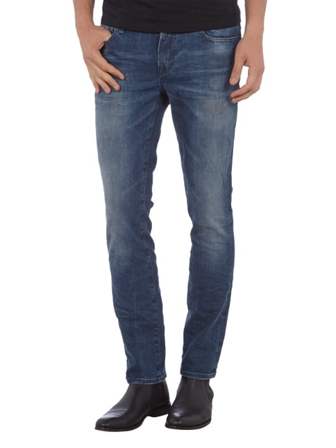 Guess Skinny Jeans im Used Look Jeans - 1