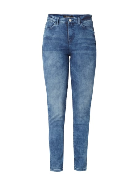 Guess 1981 Skinny High - Stone Washed Skinny Fit High Waist Jeans Jeans