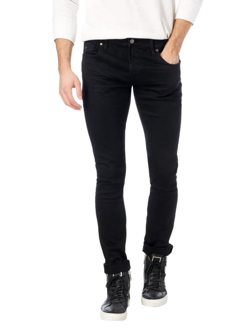 Guess Super Skinny Fit 5-Pocket-Jeans Schwarz - 1