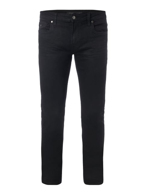 Super Skinny Fit 5-Pocket-Jeans Grau / Schwarz - 1