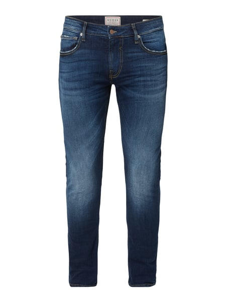 Guess – Super Skinny Fit Jeans im Used Look – Jeans