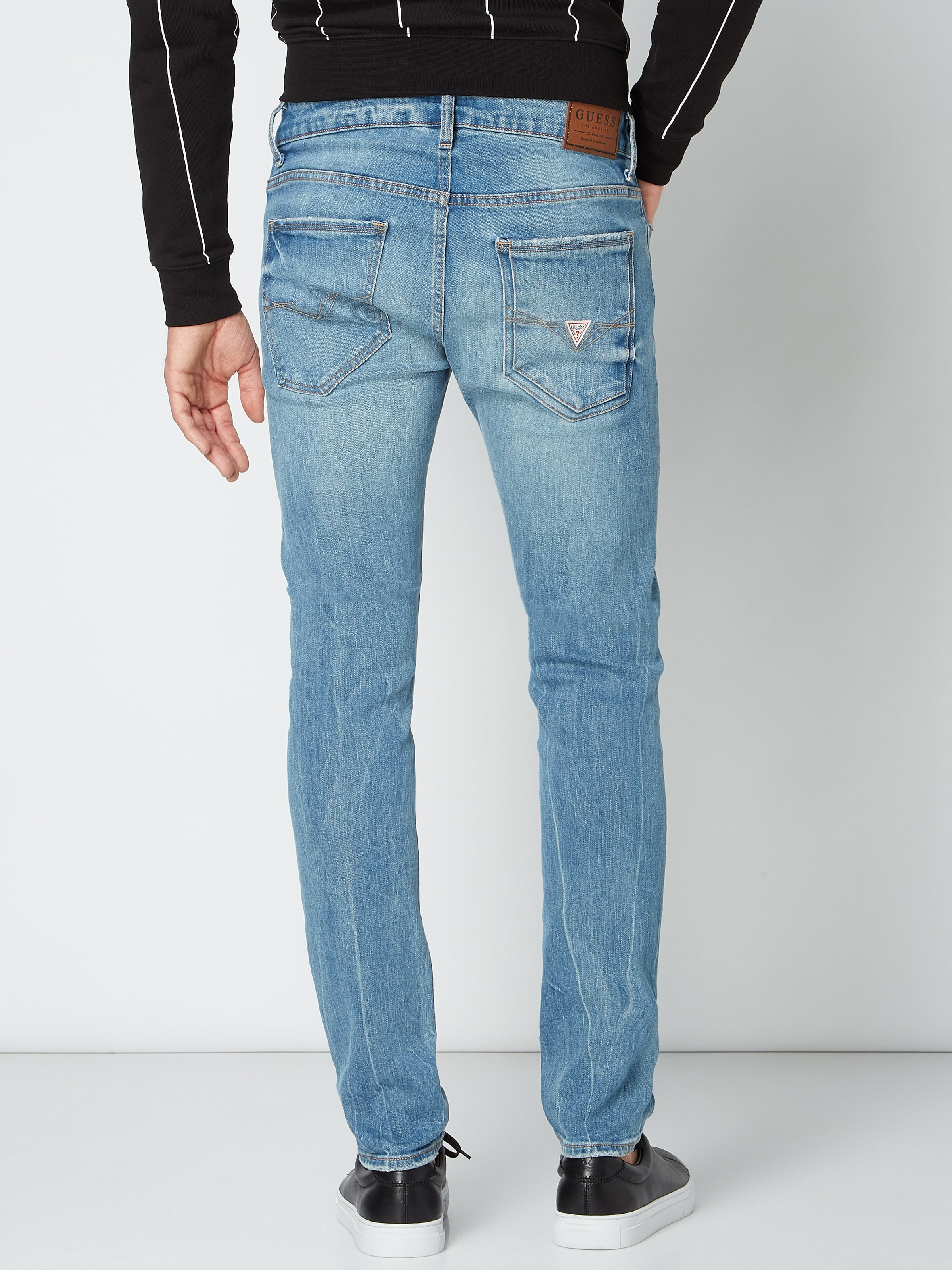 Guess Super skinny fit jeans in used look Jeans