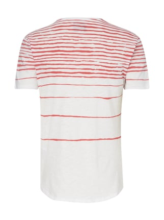 Guess T-Shirt mit Streifenmuster Rot - 1