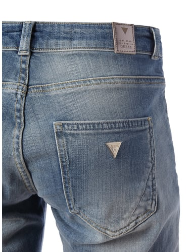 Tapered Relaxed Fit Jeans im Destroyed Look Guess online kaufen - 2