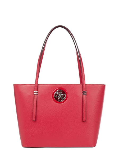 Guess Trapezshopper mit Logo-Applikation Rot - 1