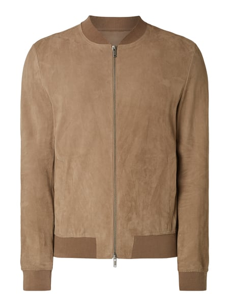 House of Paul Rosen Blouson aus Veloursleder Braun - 1