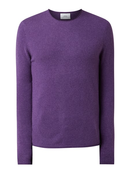 House of Paul Rosen Pullover aus Woll-Kaschmir-Mix Lila - 1