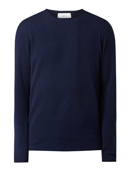 House of Paul Rosen Pullover aus Woll-Kaschmir-Mix Blau - 1