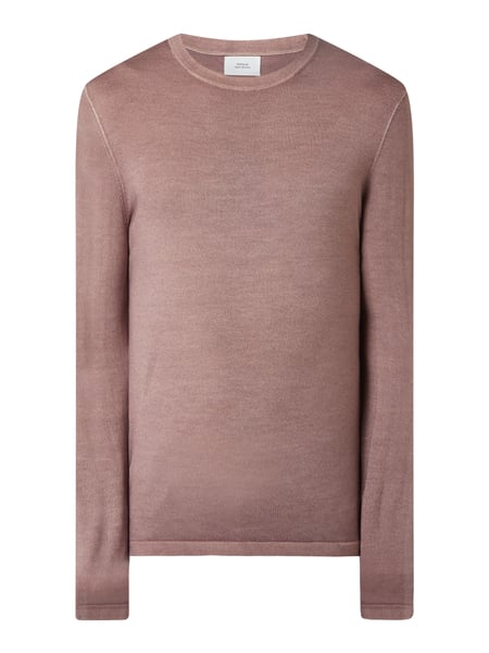 House of Paul Rosen Pullover aus Wolle Rosa - 1