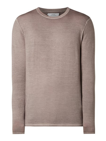 House of Paul Rosen Pullover aus Wolle Beige - 1