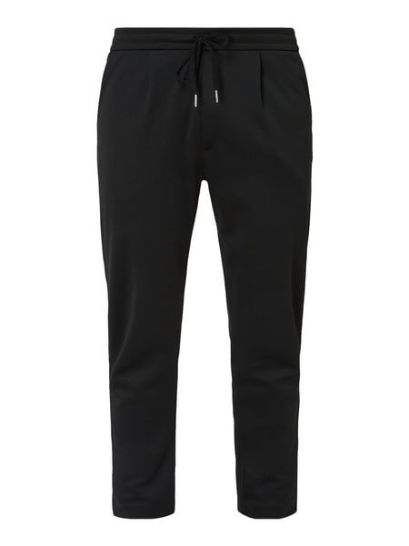 House of Paul Rosen Sweatpants mit Tunnelzug Schwarz - 1