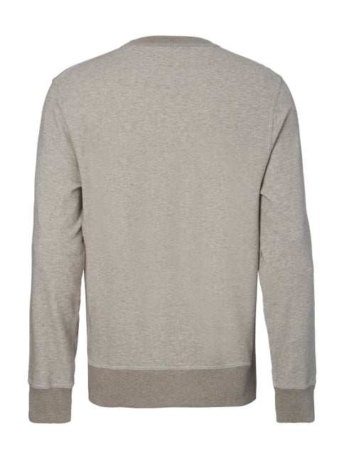 Paul Rosen Men Sweatshirt in Melangeoptik Taupe meliert - 1