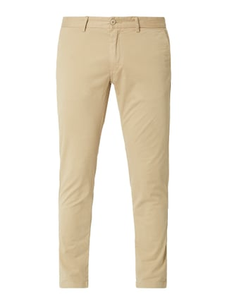 5b4e462ebce0 House of Paul Rosen Tapered Fit Chino mit Stretch-Anteil Weiß - 1 ...