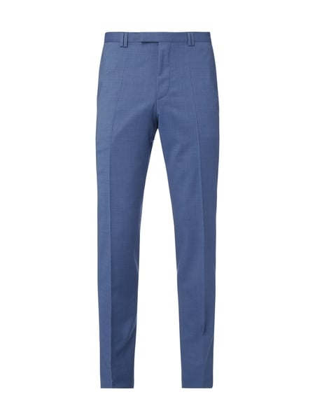 HUGO Business-Hose aus Schurwolle Blau - 1