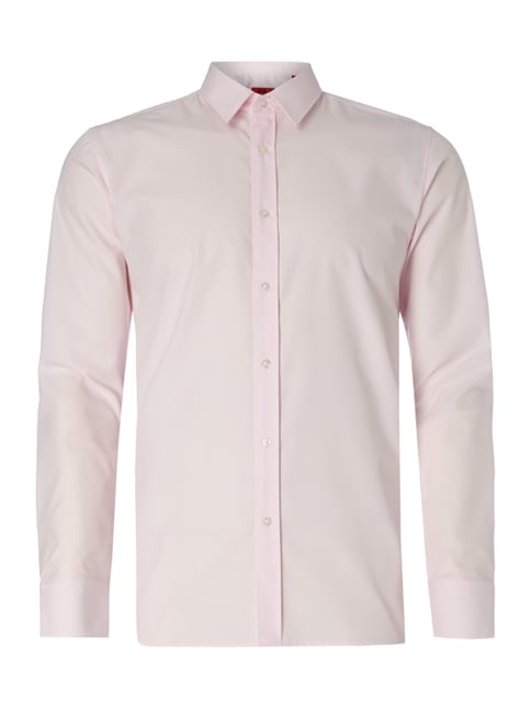Extra Slim Fit Business-Hemd mit extralangem Arm Rosé - 1