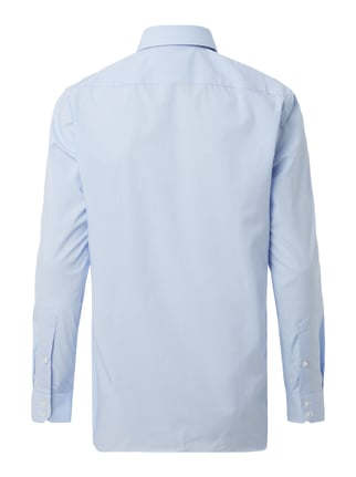 Hugo Regular Fit Business-Hemd mit Allover-Muster Bleu - 1