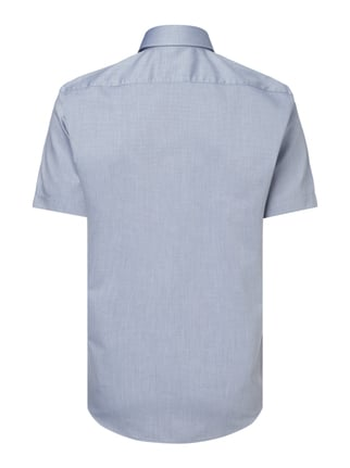 Hugo Regular Fit Business-Hemd mit kurzem Arm Marineblau - 1