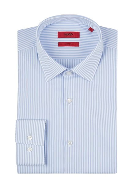 Hugo Slim Fit Business-Hemd aus Baumwolle Blau - 1