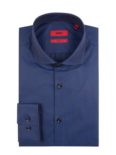 Hugo Slim Fit Business-Hemd mit extralangem Arm Blau / Türkis - 1