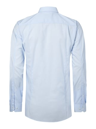 Hugo Slim Fit Business-Hemd mit Kentkragen Bleu - 1