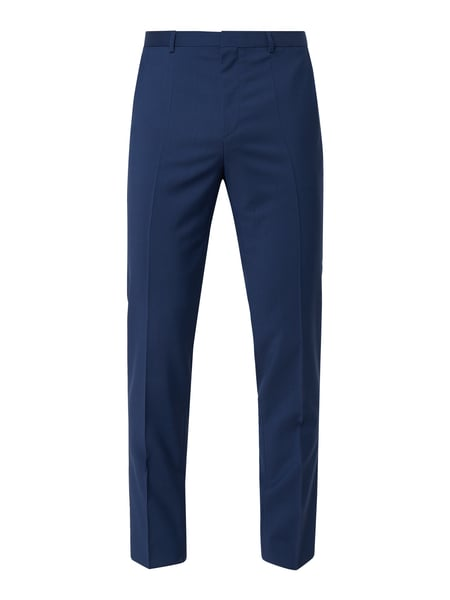 HUGO Slim Fit Business-Hose mit Webstruktur Modell 'Hartley' Blau - 1