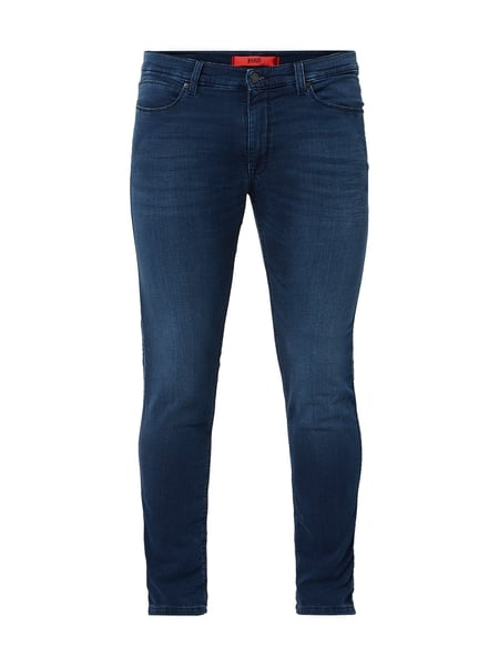 Hugo Stone Washed Slim Fit Jeans Blau - 1