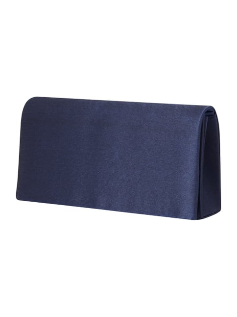 Clutch in Metallicoptik Blau / Türkis - 1