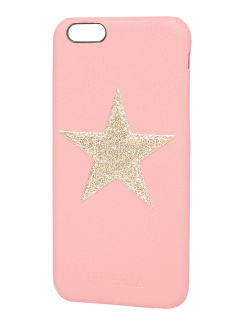 iPhone Case mit Stern-Applikation Gelb - 1