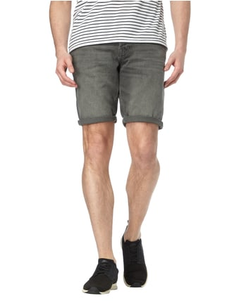 Jack & Jones Coloured Regular Fit Jeansbermudas Mittelgrau - 1