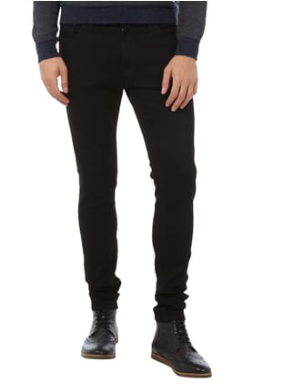 Jack & Jones Coloured Skinny Jeans Schwarz - 1