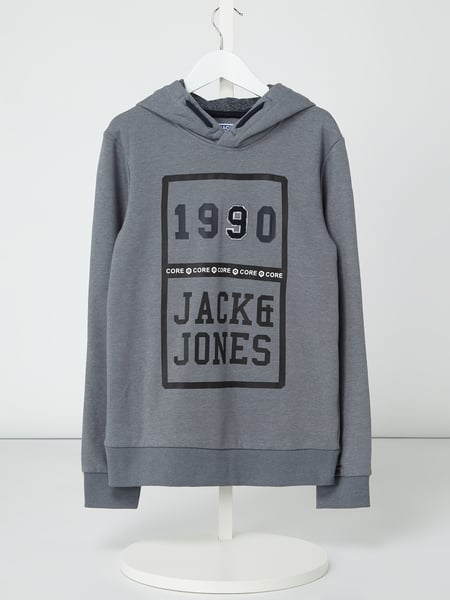 newest collection 50ced 8e0ac Jack & Jones – Hoodie mit Logo-Print – Jeans
