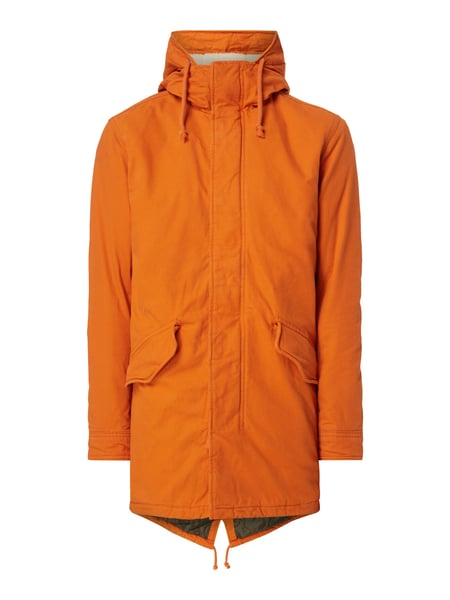 Jack & Jones Parka mit Teddyfutter - wattiert Orange